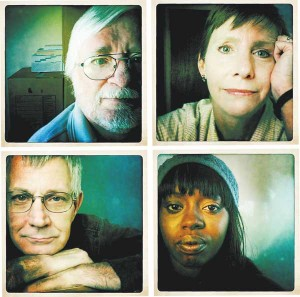 Clockwise from top left: Ray Dalke; Liz Swiech; Clara Simmons; and Mike Swiech. (Craig F. Walker, The Denver Post)