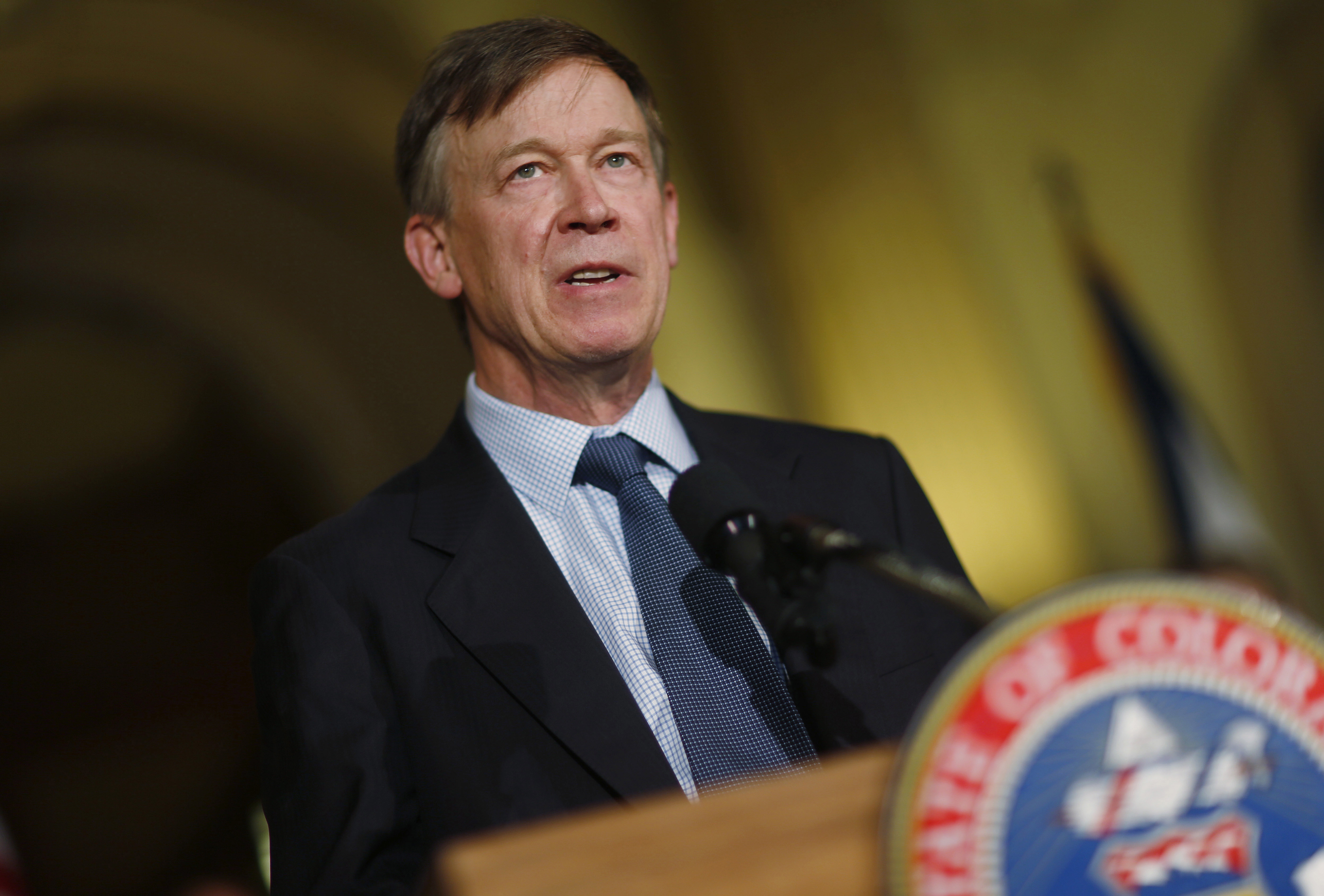 Amendment 66 defeat capped a year of challenges for Gov. Hickenlooper